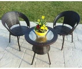 Set záhradného nábytku Bistro, 3 diely