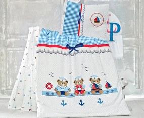 Obliečky do detskej postieľky Sailor ba