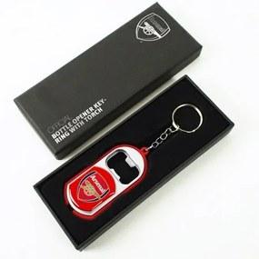 FOREVER COLLECTIBLES Prívesok na kľúče ARSENAL 3v1 / prívesok, otvárač, baterka (7784), 7 x 3,5cm