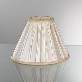Náhradné tienidlo na stolné lampy v plisé 30,5 cm