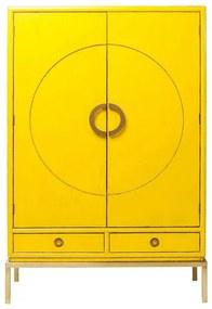 KARE DESIGN Skriňa Disk žltá