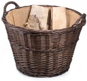 Kôš záhradný/na drevo prútený Provence Rambo V.
