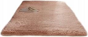 Plyšový koberec Béžový 140x200 cm
