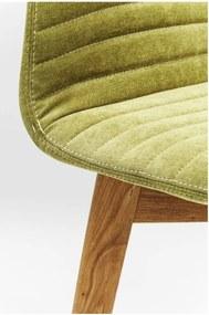 Sada 2 svetlozelených jedálenských stoličiek Kare Design Lara