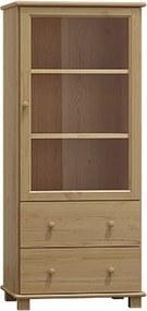 AMI nábytok vitrína č.9 borovice