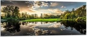 Sklenený obraz - Styler Nature 125x50 cm