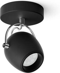 LED Bodové svietidlo Philips Rivan 50611/30 / P0 1x4,3W čierne