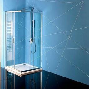 POLYSAN - EASY LINE obdĺžniková sprchová zástena 900x800mm, číre sklo (EL5315)