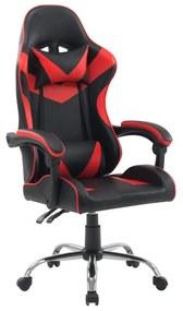 Kancelárska stolička RACING 2020 Červeno / čierna