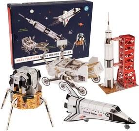 Detská vesmírna stavebnica Rex London Space Mission Vehicles
