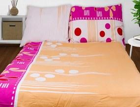 HOD Obliečky AIDIA ružová Flanel 70x90 140x200 cm