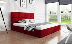 PROXIMA.store - Čalúnená posteľ SLIM I - farba na mieru - 120/140/160/180 Veľkosť postele: Pre matrac 120 x 200 cm