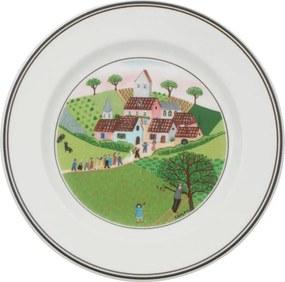 Tanier na chlieb/maslo 17 cm Mlyn Svadba Naif