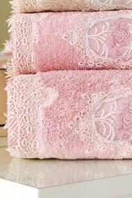 Soft Cotton Malý uterák DESTAN 32x50cm Staroružová