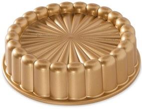 Nordic Ware Hliníková forma na tortu Charlotte Gold