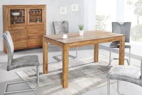 Bighome - Jedálenský stôl LAOSE II 140 - prírodná