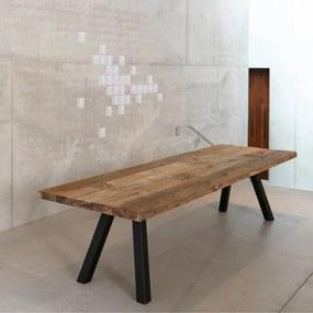 Jedálenský stôl BRADFORD | čierna 300 cm