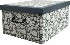 Compactor Skladacia úložná krabica Vicky, 50 x 40 x 25 cm