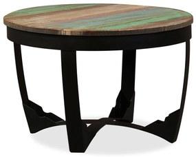 vidaXL Príručný stolík z regenerovaného dreva, 60x40 cm