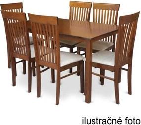 TEMPO KONDELA Jedálenský stôl, orech, ASTRO