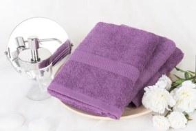 XPOSE ® Froté ručník VERONA - tmavě levandulová 50x90 cm
