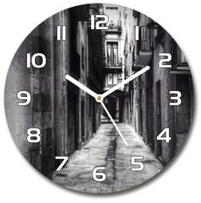 Sklenené hodiny okrúhle Barcelona Španielsko pl_zso_30_f_62280474