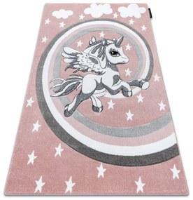 3kraft Kusový koberec PETIT PONY růžový