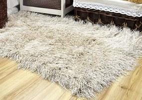 MAXMAX Kusový koberec Shaggy MAX inspiration - ecru