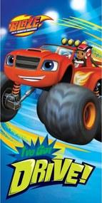 Detská osuška Blaze Monster Truck 70x140 cm