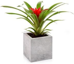 Betónový kvetináč 13x13 cm