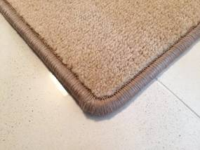 Betap koberce Kusový koberec Eton 2019-70 béžový čtverec - 60x60 cm
