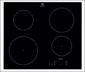 Indukčná varná doska Electrolux čierna EHH6240ISK