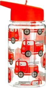 Fľaša na vodu s motívom áut 400 ml