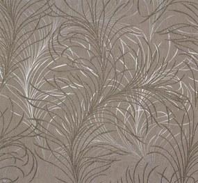 Vliesová tapeta, listy zlato-strieborné, Estelle 55717, MARBURG, rozmer 10,05 m x 0,53 m