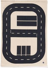 Bighome - Koberec diaľnica Aiden 90x130 cm - viacfarebná