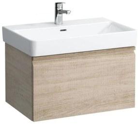 Kúpeľňová skrinka pod umývadlo Laufen PRO S 66,5x39x45 cm dub H4834510964791