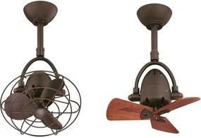 """MATTHEWS DIANE DI-6 13"""" bronz/kov Stropný ventilátor"""