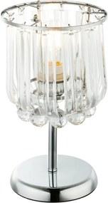 Globo 15303T Stolné Lampy MINNESOTA chróm kov 1 x E14 max. 40W IP20
