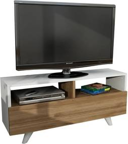 TV stolík v dekore orechového dreva Novella