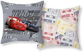 DETEXPOL Povlak na vankúšik Cars Race Ready Polyester 40/40 cm