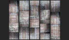 Tapeta Bimago - Brass wall + lepidlo zadarmo rolka 50x1000 cm