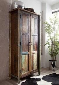 Masiv24 - COLORES Skriňa 180x90 cm, staré drevo