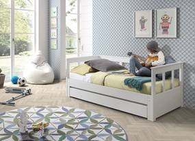 Rozkladacia detská posteľ so zásuvkou Pino PIKB-PIRB9114