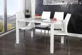 Jedálenský stôl biely vysoký lesk Radiant 120cm