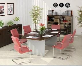Zostava kancelárskeho nábytku Manager 3 breza