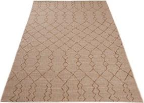 Kusový koberec Dante hnedý, Velikosti 120x170cm