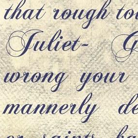 Tapeta Bimago - Verses of Love (Romeo & Juliet) + lepidlo zadarmo rolka 50x1000 cm