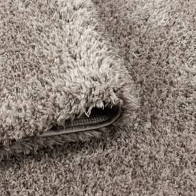Ayyildiz koberce Kusový koberec Ancona shaggy 9000 beige - 60x110 cm
