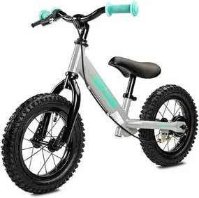 TOYZ | Toyz Oliver | Detské odrážadlo bicykel Toyz Oliver grey | Sivá |