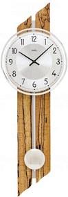 Kyvadlové nástěnné hodiny 7468 AMS 65cm